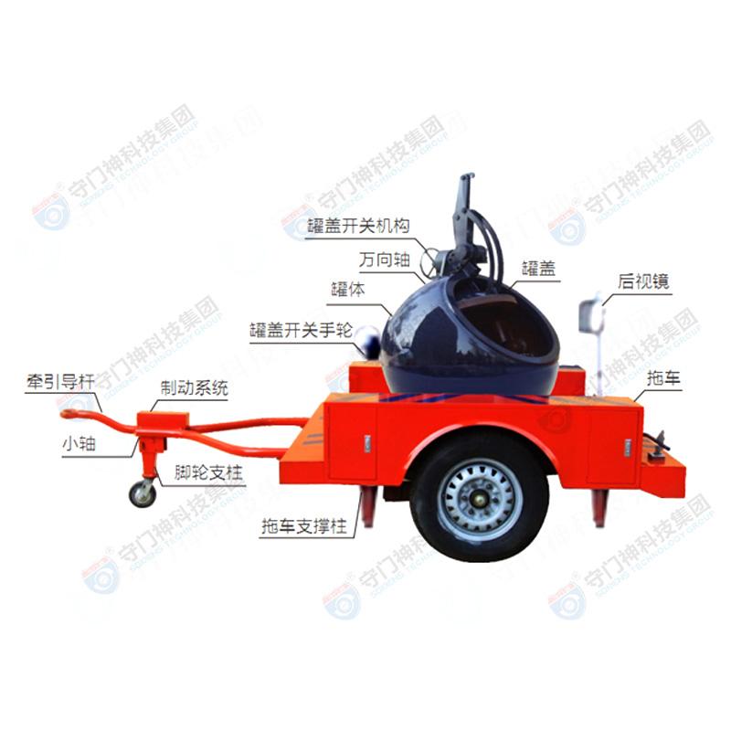 拖车式防爆球FBQ702-703