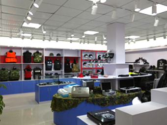 Product display area